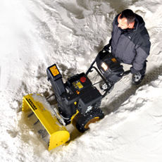 KARCHER SNOW THROWER