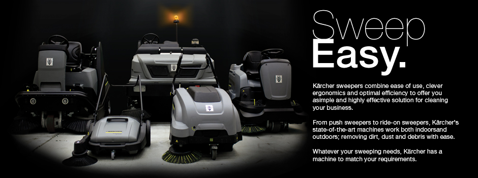 Karcher Sweeper Range